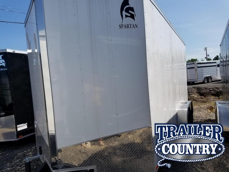 2018 Spartan 7X16TA Enclosed Cargo Trailer