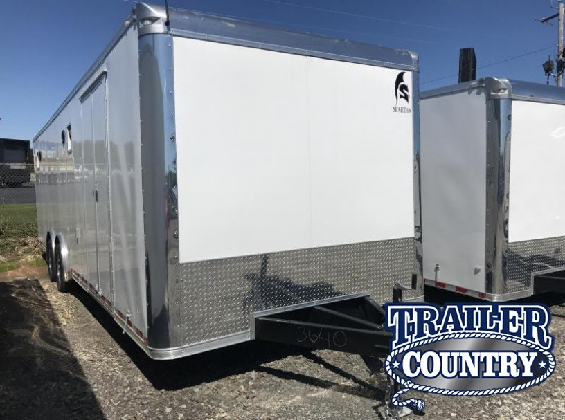 8.5x28 Spartan Enclosed Car / Race Trailer-CLEARANCE