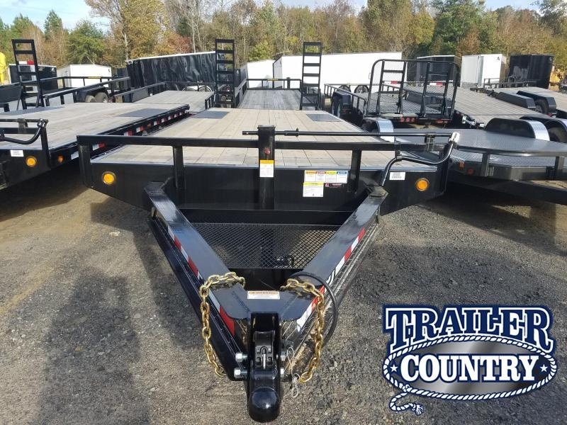 2019 PJ Trailers 96X25 DECKOVER Equipment Trailer