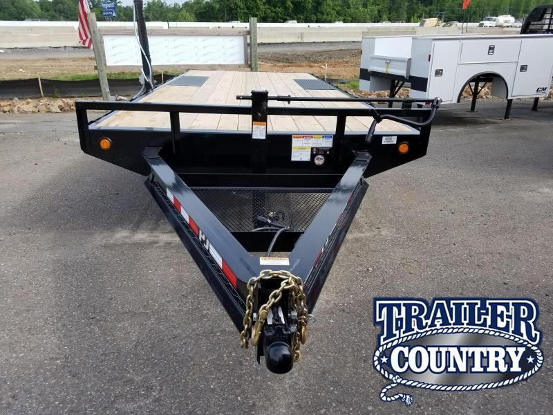 2018 PJ Trailers 96X20 I-BEAM DECKOVER Equipment Trailer