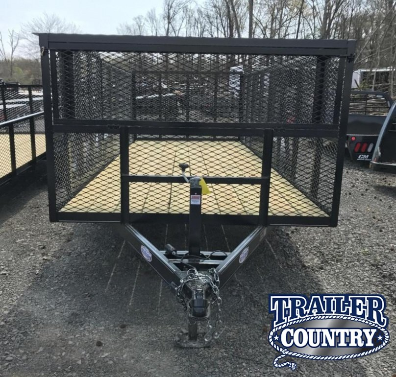 77x16 Precision Landscape Utility Trailer-4' Sides-CLEARANCE