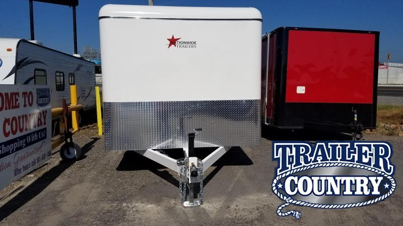 2020 Nationwide Trailer 7X16 TA Enclosed Cargo Trailer