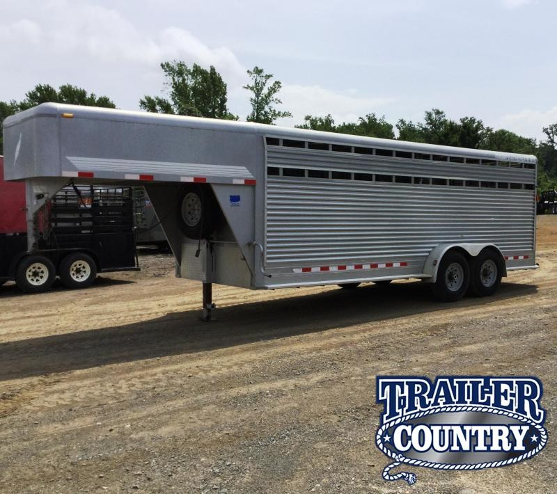 2006 Featherlite 20 STEEL STOCK Livestock Trailer** JUST REDUCED
