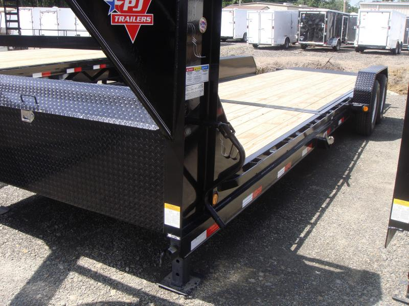 83X24 PJ Gooseneck Equipment Tilt Trailer