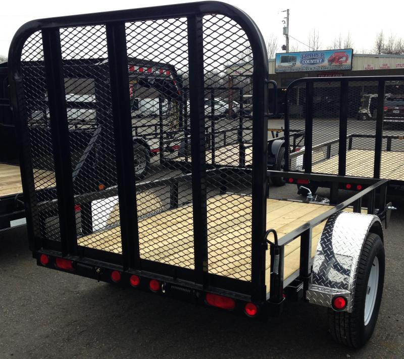5x8 PJ Utility Trailer-Rear Gate-CLEARANCE