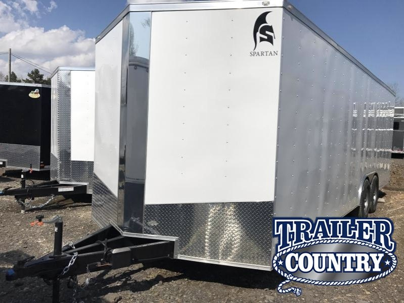 8.5x24 HD Enclosed Cargo Trailer-7000lb Axles