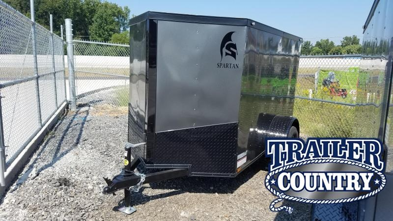 2020 Spartan 6X12 SA Enclosed Cargo Trailer