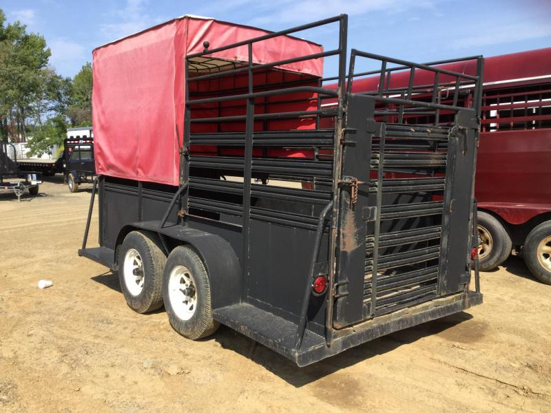 USED 12' Stock Trailer