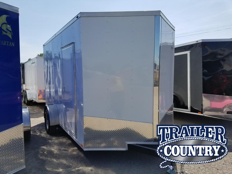 2018 Spartan 7X12SA Enclosed Cargo Trailer