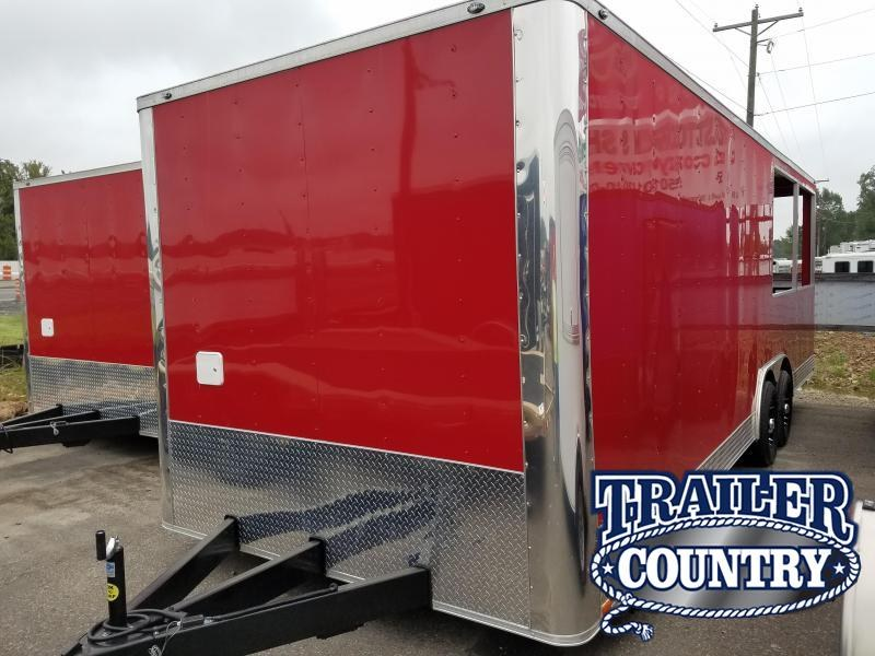 2019 Spartan 8.5X24 Vending / Concession Trailer
