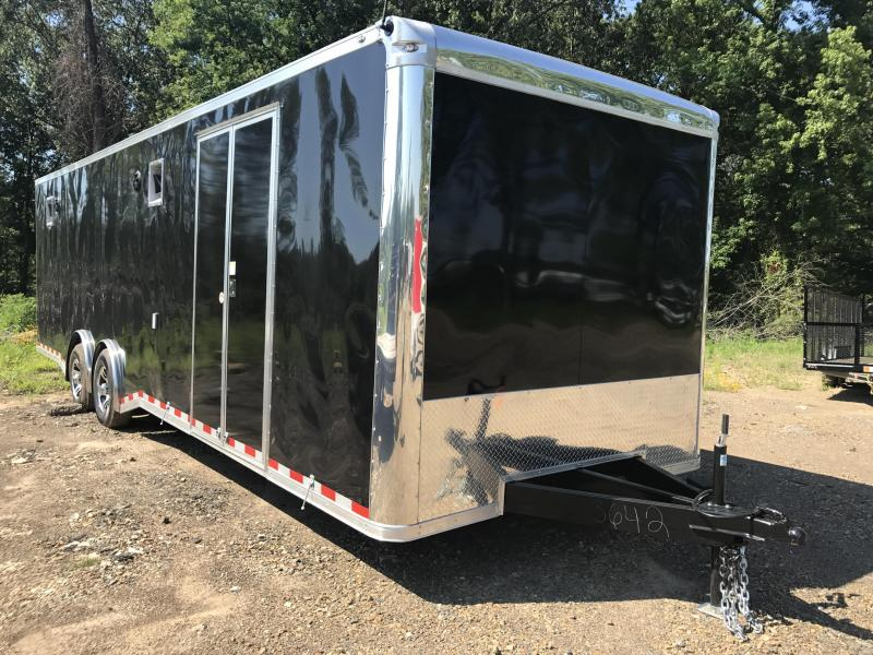 8.5x28 Spartan Enclosed Race Trailer