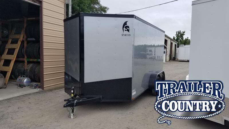 2020 Spartan 7X14 TA Enclosed Cargo Trailer