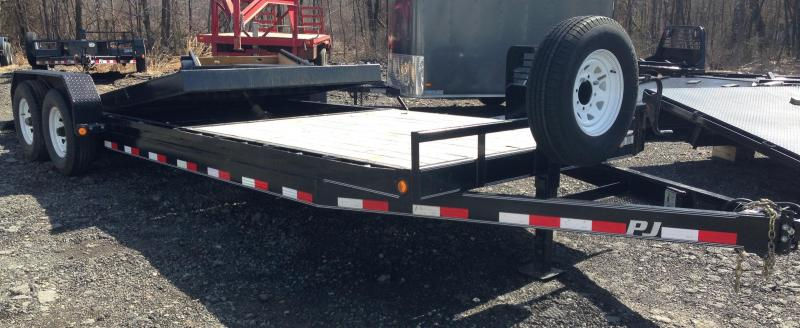 USED 83x24 PJ Tilt Equipment Trailer
