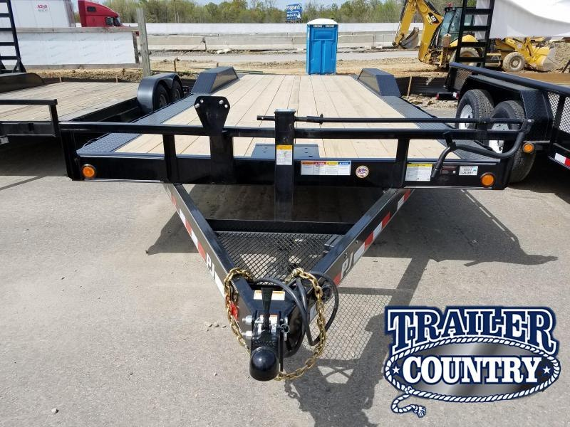 2018 PJ Trailers 102X24 Equipment Trailer