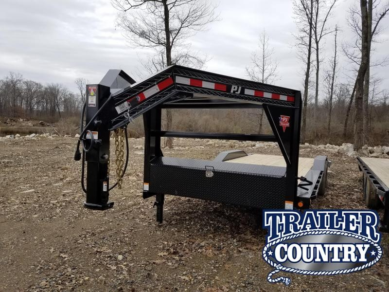 2019 PJ Trailers 102X24 GN Equipment Trailer