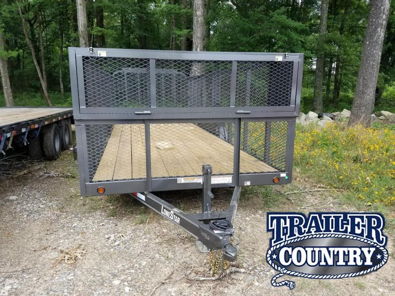 2019 East Texas 83X20 TA Utility Trailer