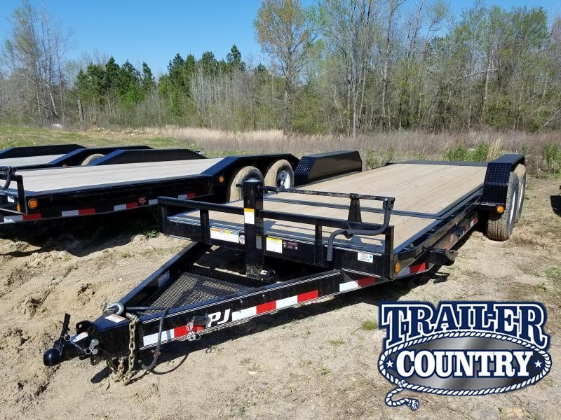 2018 PJ Trailers 83X20 TILT Car Hauler