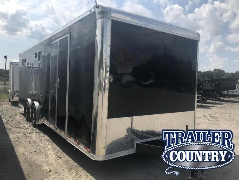 8.5x24 Spartan Enclosed Race Trailer-CLEARANCE