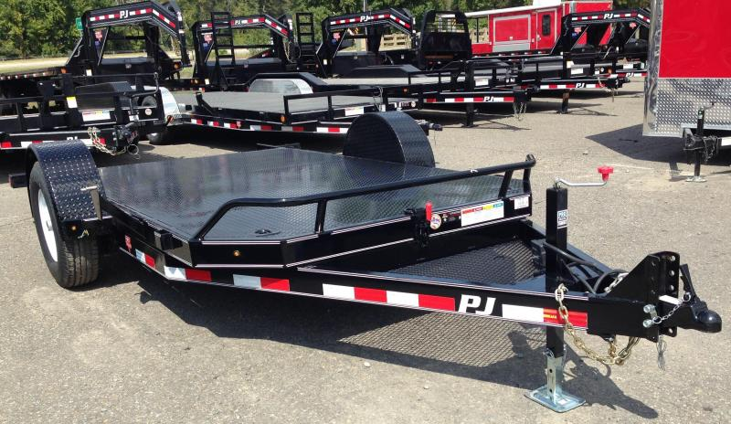 13' Single Axle HD Tilt with Steel Floor