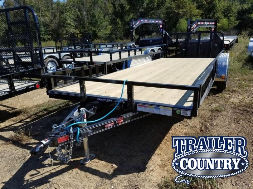 83x20 PJ Utility Trailer-Rear Gate