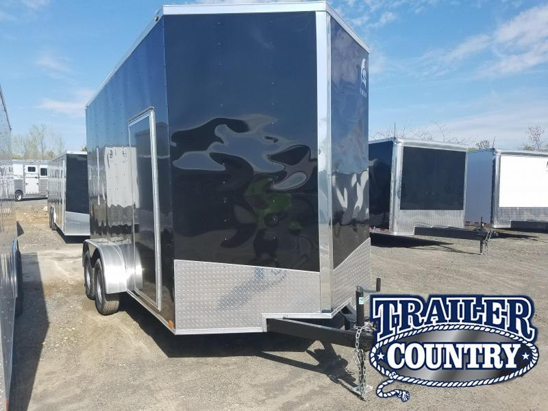 2018 Spartan 7X14 TA Enclosed Cargo Trailer