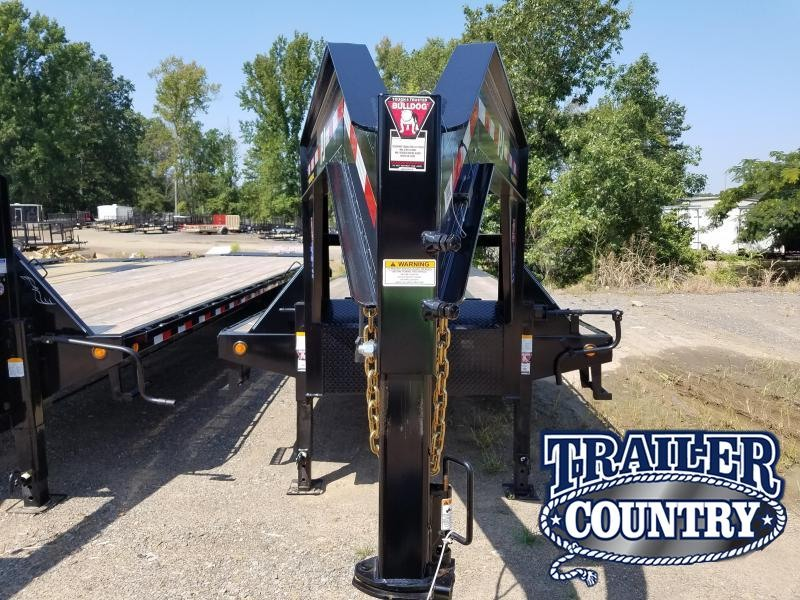 2018 PJ Trailers GN 102X36 LO PRO Flatbed Trailer