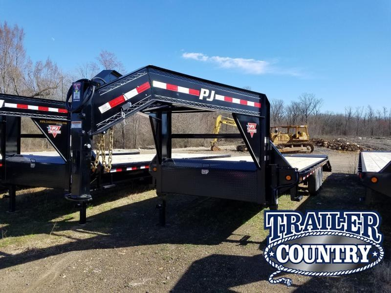 2019 PJ Trailers 25 GN Flatbed Trailer