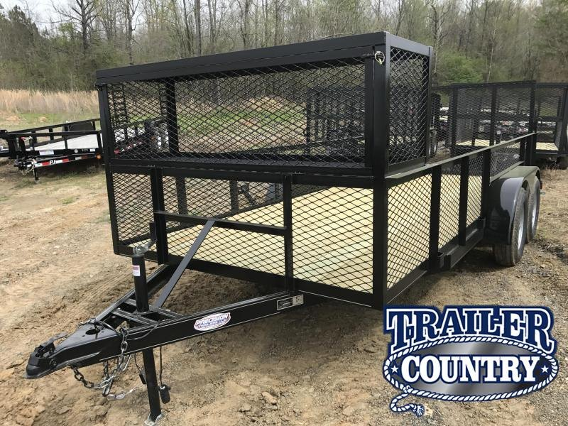77x16 Landscape Utility Trailer-2' Sides-Toolbox