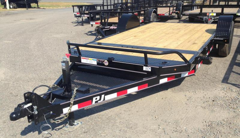 16' Single Axle Heavy Duty Tilt Trailer
