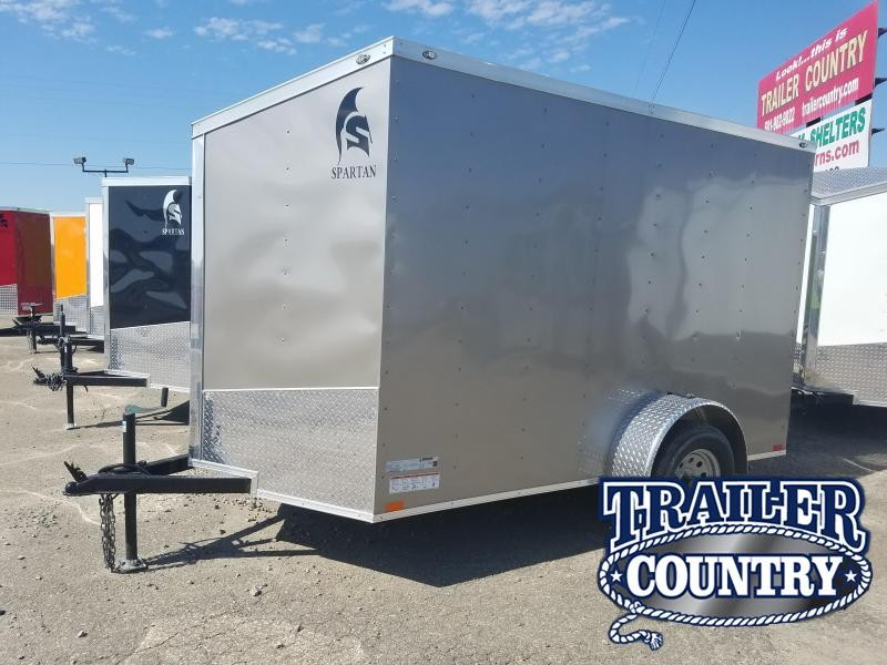 2018 Spartan 6X10SA Enclosed Cargo Trailer