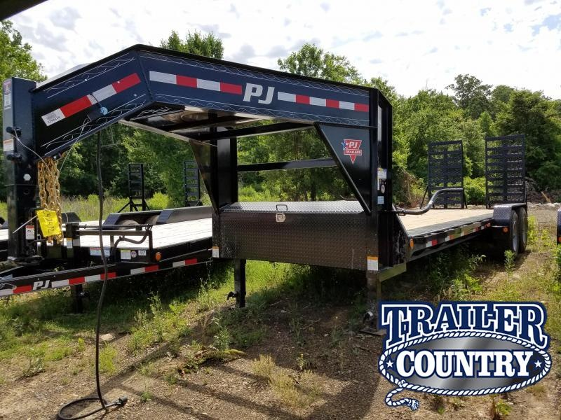 2018 PJ Trailers 82X24 Equipment Trailer