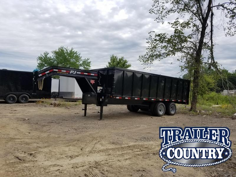 2020 PJ Trailers 20FT TA Dump Trailer