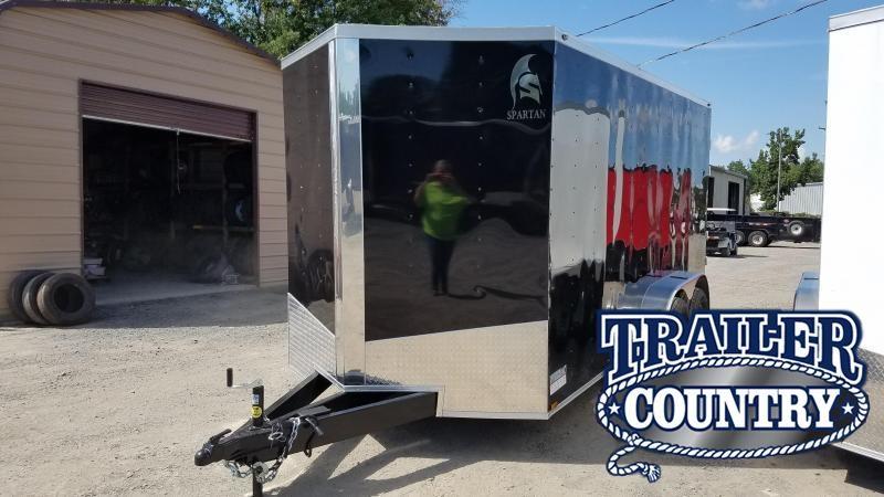2020 Spartan 7X16 TA Enclosed Cargo Trailer