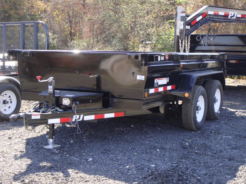 78x12 PJ Dump Trailer-Powder Coated