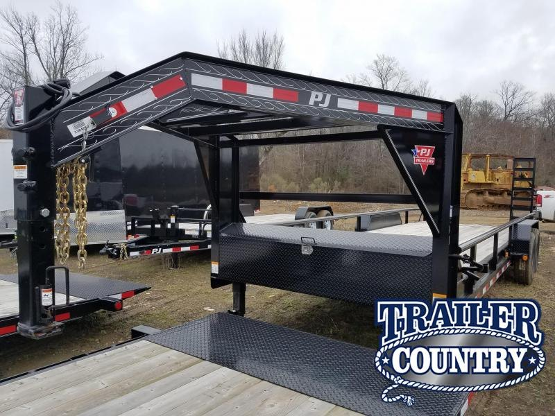 2019 PJ Trailers 83X24 GN Equipment Trailer