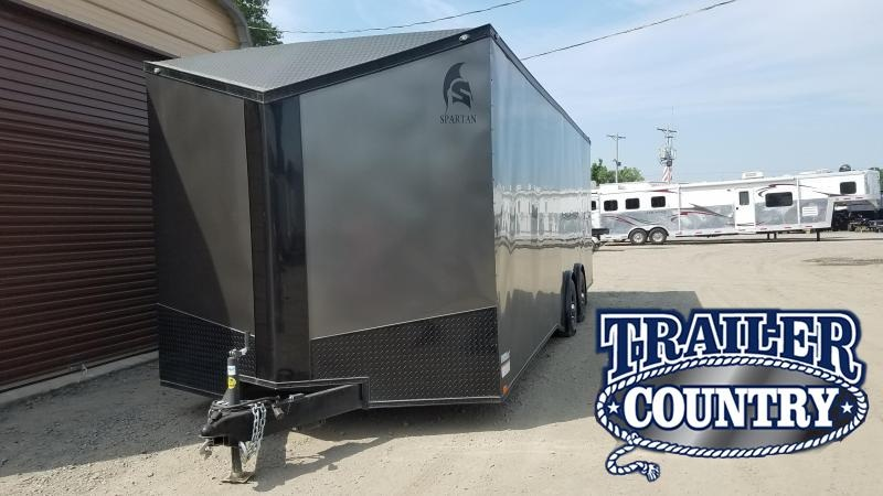 2018 Spartan 8.5X24 TA Enclosed Cargo Trailer