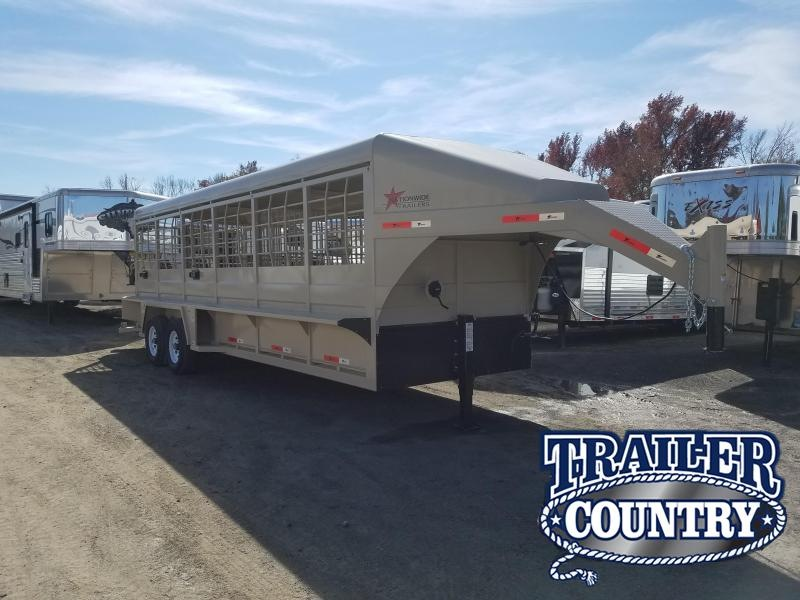 2019 Nationwide Trailer 24ft STOCK Livestock Trailer