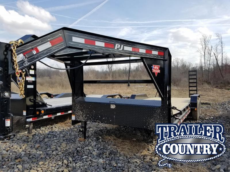 2018 PJ Trailers 83x24 GN Equipment Trailer