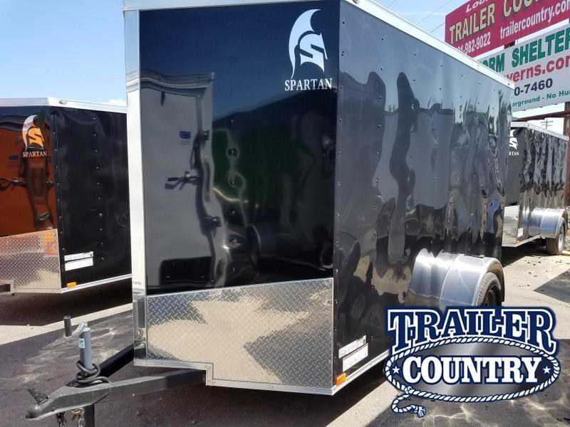 2018 Spartan 6X10SA Enclosed Cargo Trailer