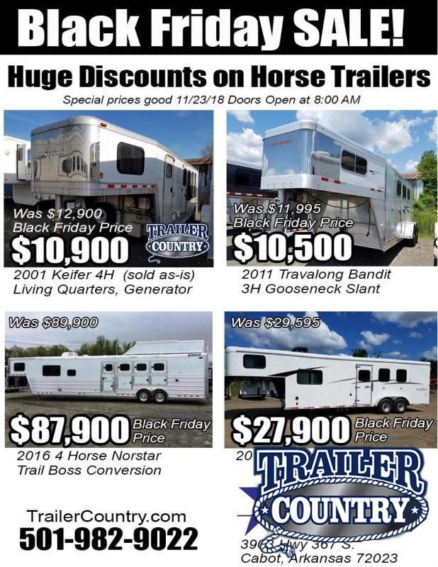 2018 Other HORSE TRAILERS