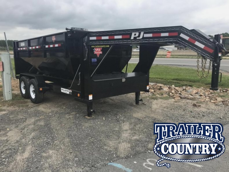 PJ Rollster Roll Off Dump Trailer-Bins Sold Seperately