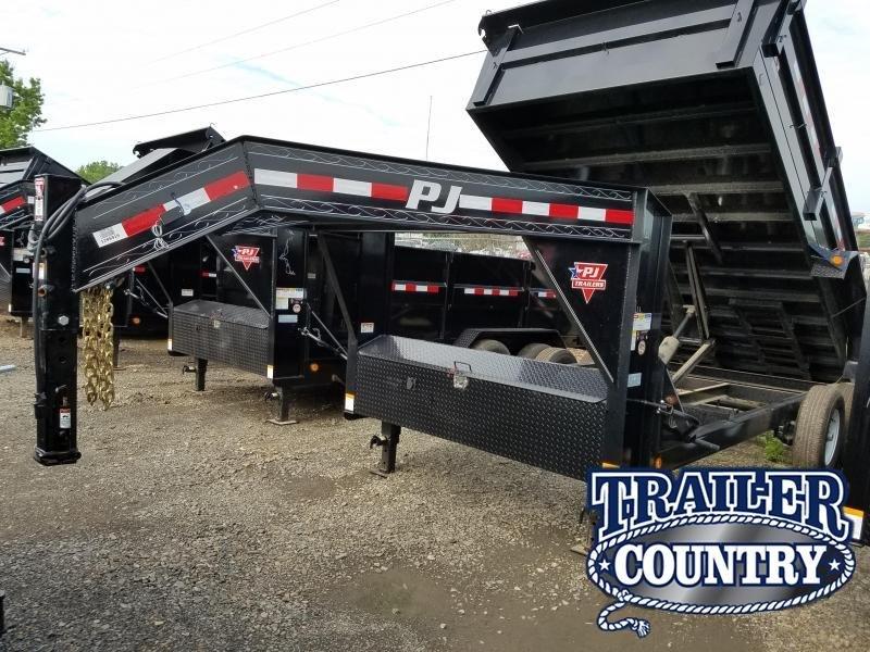 2018 PJ Trailers 83X16XL Dump Trailer