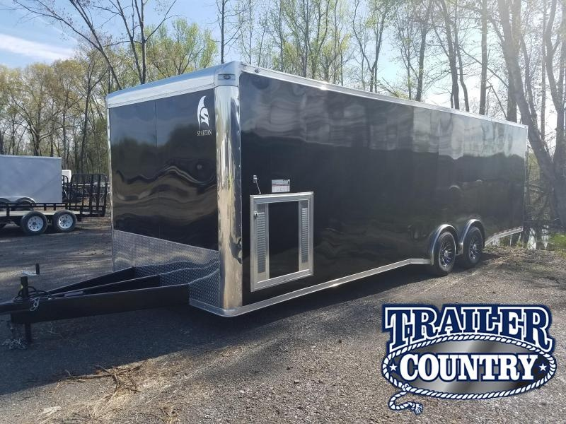 2018 Spartan 8.5X28 TA Car / Racing Trailer