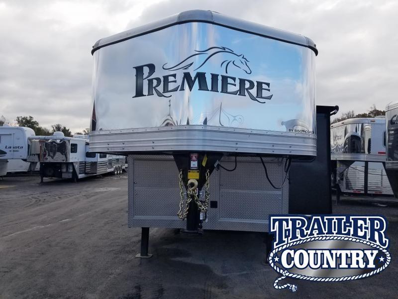 2019 Bison Trailers 8314 PREMIERE Horse Trailer