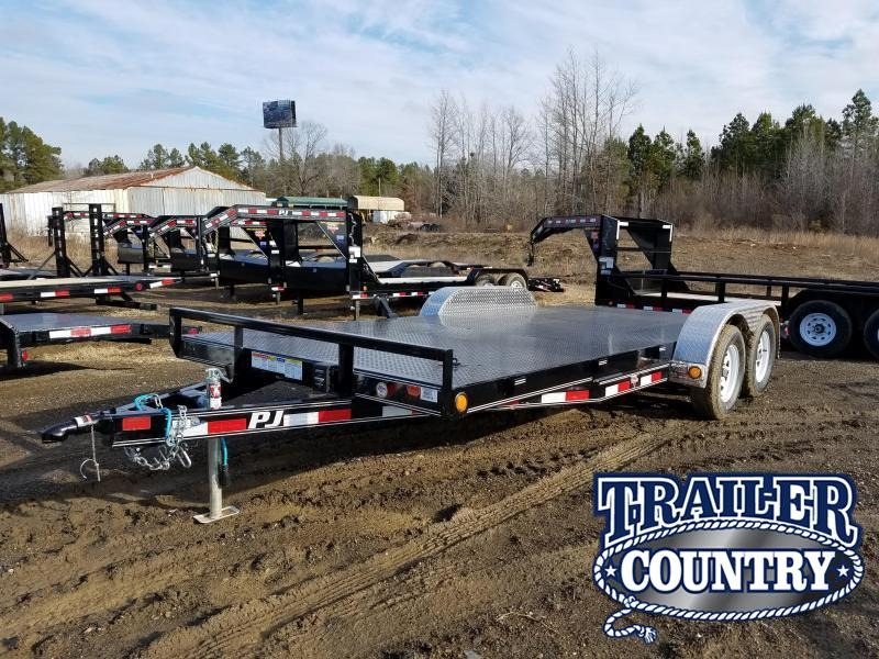 2018 PJ Trailers PJ Car Hauler 83x18 Car / Racing Trailer