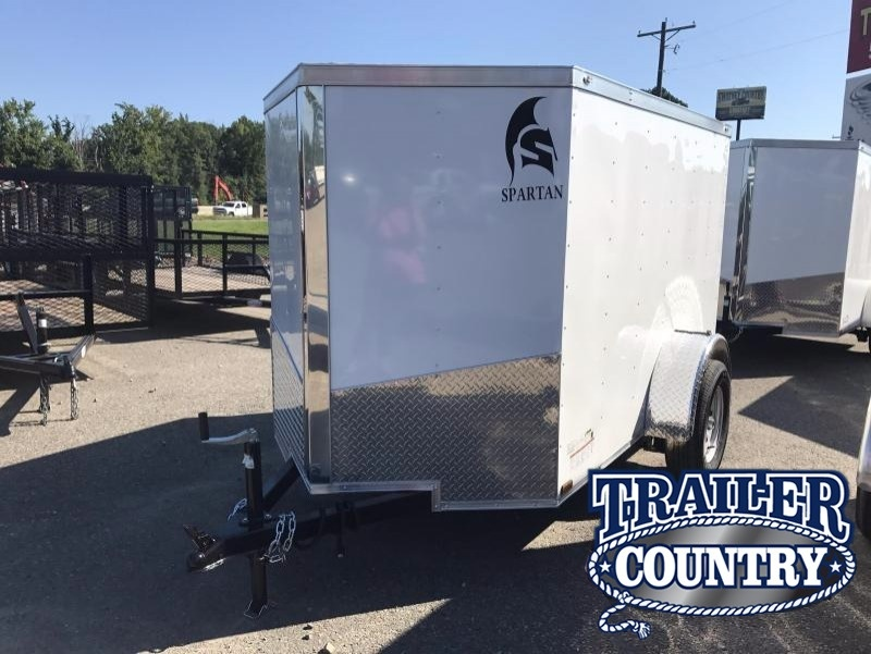 5x8 Enclosed Cargo Trailer-Ramp Door-5' Height