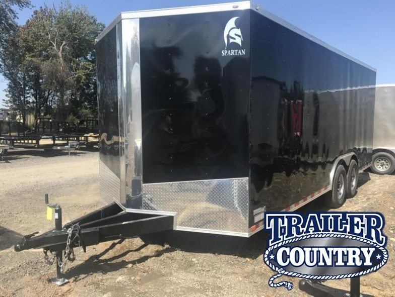 8.5x20 XXL Enclosed Cargo Trailer-7K Axles