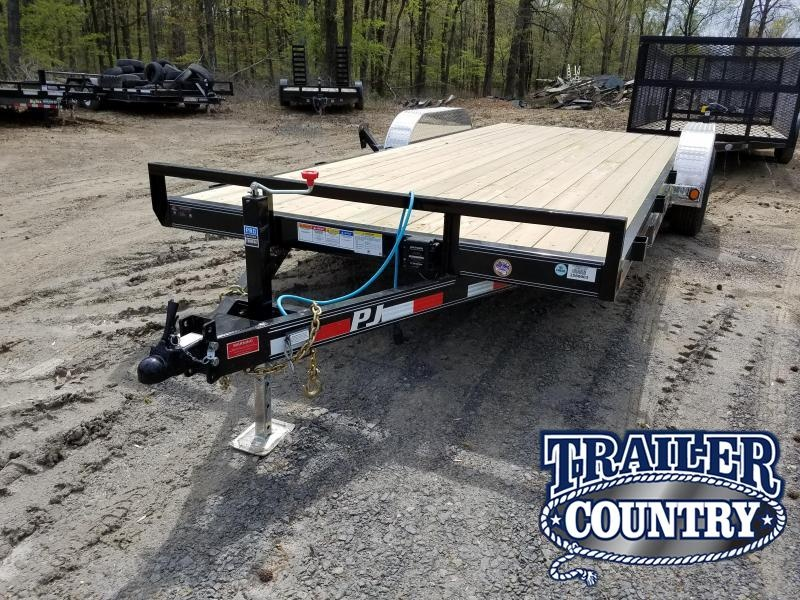 2018 PJ Trailers 83X20 TA Car / Racing Trailer