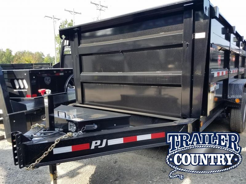 2018 PJ Trailers 83X14 LO PRO HIGH SIDES Dump Trailer
