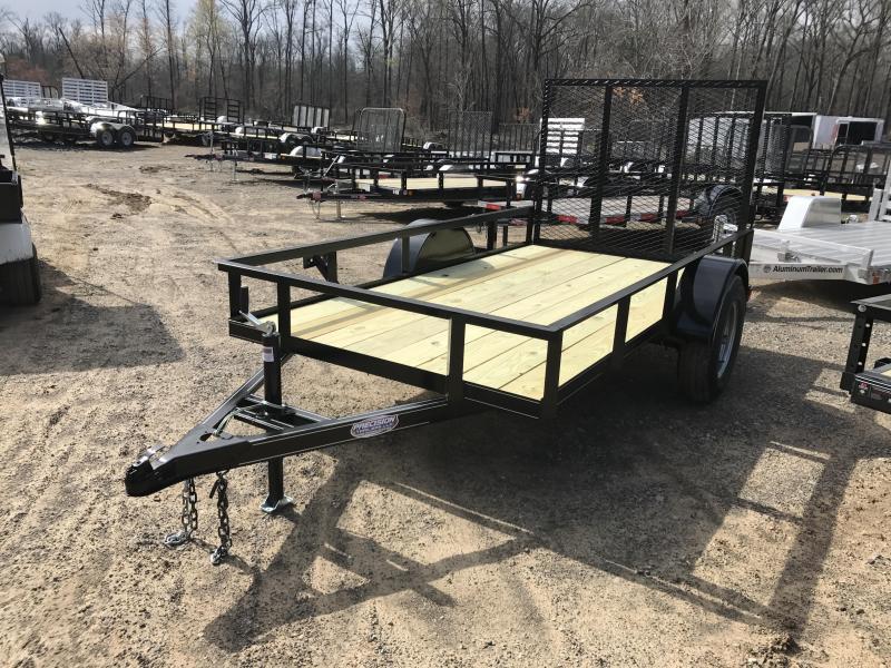 5x10 Utility Trailer-Rear Gate